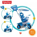 Fisher-Price Fisher-Price – Tricicleta 3 in 1 Elite Albastra