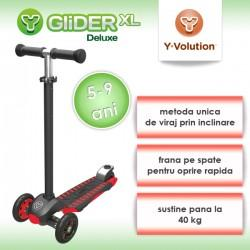 Yvolution Trotineta Glider XLRed Black Yvolution