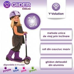 Yvolution Trotineta Glider Deluxe Purple Yvolution