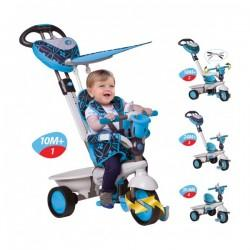 Smart Trike Tricicleta Smart Trike Dream Blue 4in1