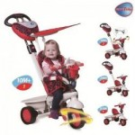 Smart Trike Tricicleta Smart Trike Dream Red 4in1