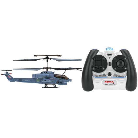 Syma Elicopter US Marine Corps Apache cu Gyro, 3 canale, de interior Syma S108G
