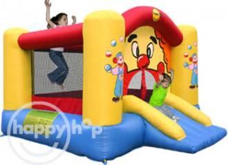 Happy Hop Saltea gonflabila Clovn cu tobogan Happy Hop