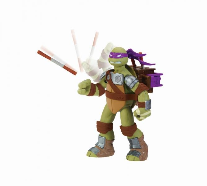 TESTOASELE NINJA Figurina deluxe Testoasele Ninja, Donatello