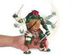 Nickelodeon TESTOASE NINJA DELUXE MOVIE LINE – RAPHAEL (14 CM)