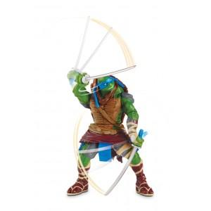 Nickelodeon TESTOASE NINJA DELUXE MOVIE LINE – FIGURINA LEONARDO (14 CM)