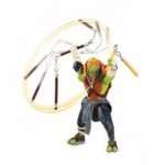 Nickelodeon TESTOASE NINJA DELUXE MOVIE LINE – FIGURINA MICHELANGELO (14 CM)