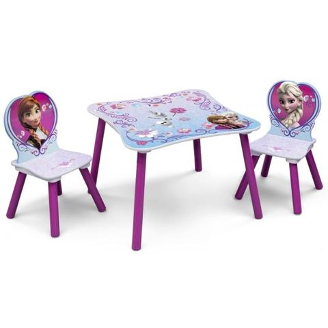 Delta Children Set Masuta si 2 Scaunele Disney Frozen