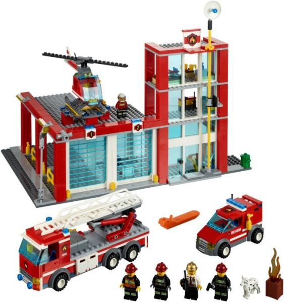 LEGO Lego City – Statie Pompieri