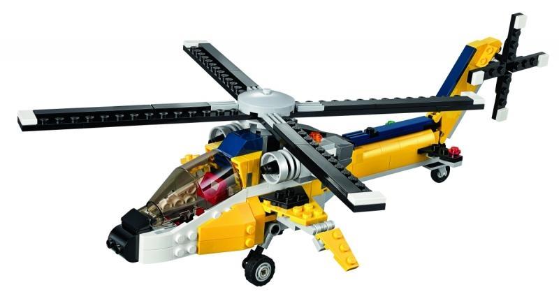 LEGO LEGO Creator – Vehicule galbene pentru curse (31023)