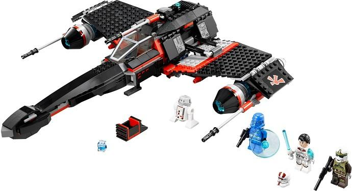 LEGO LEGO Star Wars – JEK-14 Stealth Starfighter V29 (75018)