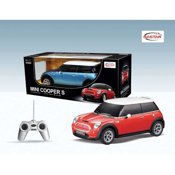 RASTAR Rastar 1:18 Mini Cooper S (cu radiocomanda)