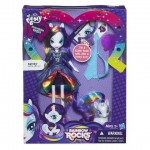 My Little Pony My Little Pony Equestria Girls Rainbow Rocks – Papusa Rarity cu Ponei