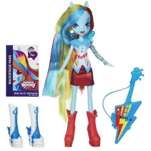 HASBRO Hasbro – My Little Pony Equestria Girls – Rainbow Dash cu Accesorii