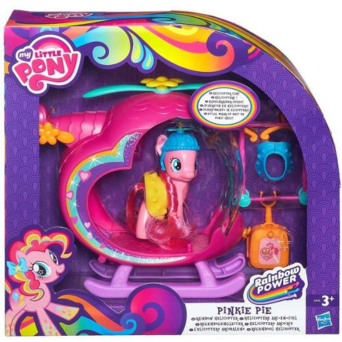 HASBRO Hasbro – My Little Pony Elicopterul Curcubeu Pinkie Pie