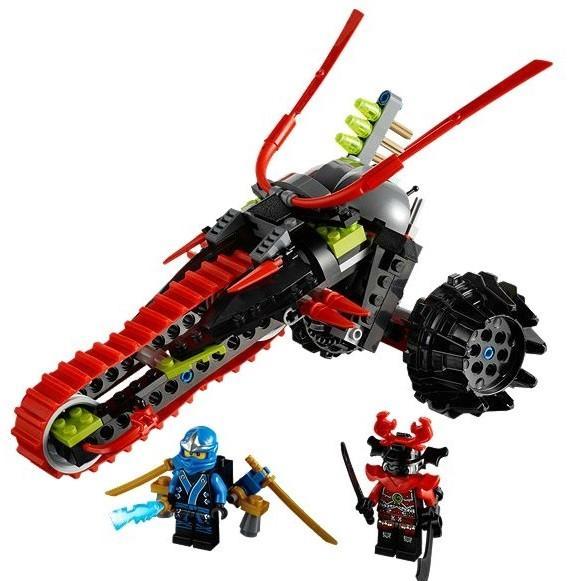 LEGO Motocicleta de razboinic