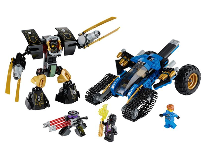 LEGO Masina de teren Fulger (70723)