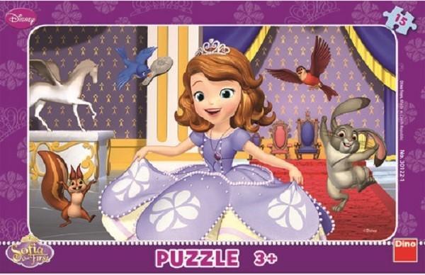 DINO TOYS Puzzle printesa Sofia (15 piese)