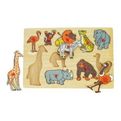 BIG JIGS Puzzle animalele in jungla