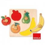 Diset Puzzle incepatori cu fructe