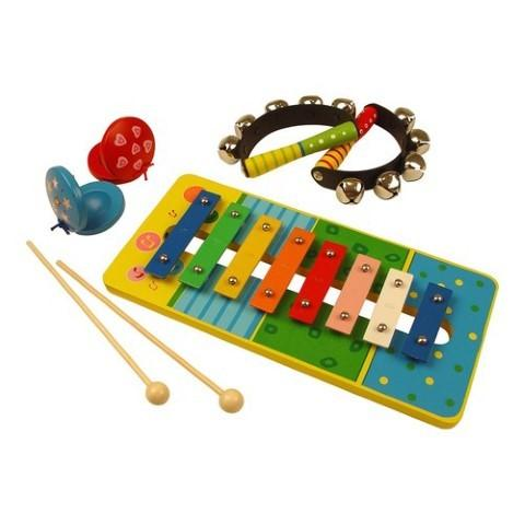 BIG JIGS Kit muzical cu 5 instrumente hazlii