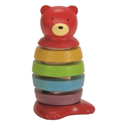 Plan toys Ursulet colorat