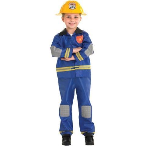 RUBIES Costum de pompier