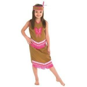 RUBIES Costum fetita indianca