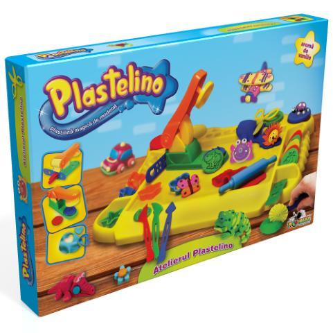 PLASTELINO Plastelino – Atelierul Plastelino – Set de Plastilina