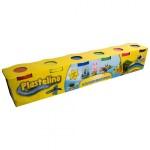 PLASTELINO Plastelino – Multipack (6 culori)