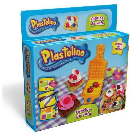 PLASTELINO Plastelino – Fabrica de Vafe – Set de Plastilina