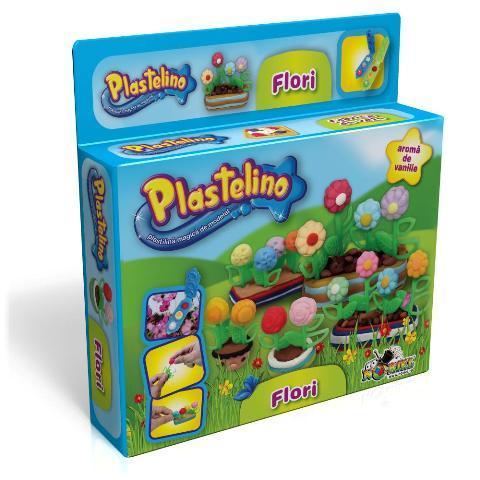 PLASTELINO Plastelino – Flori – Set de Plastilina