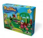 PLASTELINO Plastelino – Gradinta cu Flori – Set de Plastilina