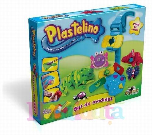 Noriel Plastelino – Set de Plastilina cu Unelte 2