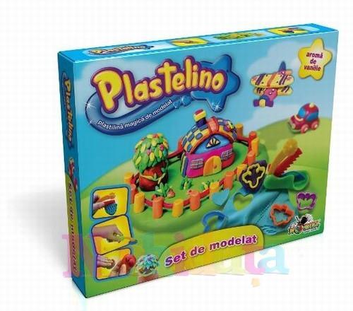 Noriel Plastelino – Set de Plastilina cu Unelte 1