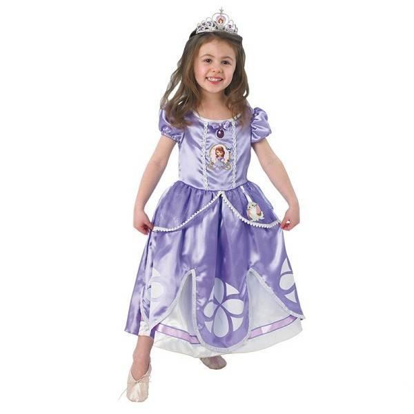Mattel Disney Costum printesa Sofia Intai
