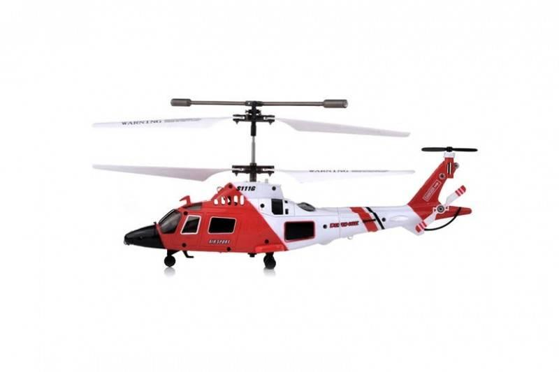 Syma Elicopter Agusta A-109 cu Gyro, 3 canale, de interior Syma S111G