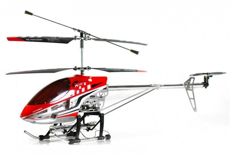 Scream Elicopter cu radiocomanda de exterior Sky King, 3 canale, 91 cm