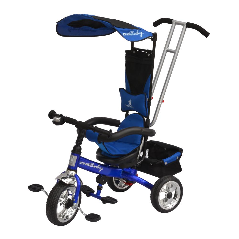 DHS Baby TRICICLETA DHS SCOOTER 118-Albastru