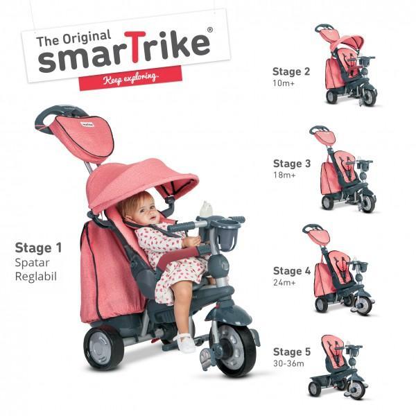 Smart Trike SMART-TRIKE EXPLORER 5 IN 1 PINK