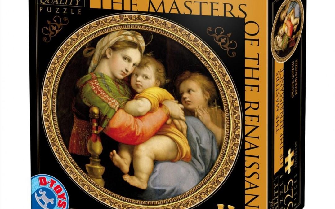 Dtoys MAESTRII RENASTERII 525 PIESE – 3