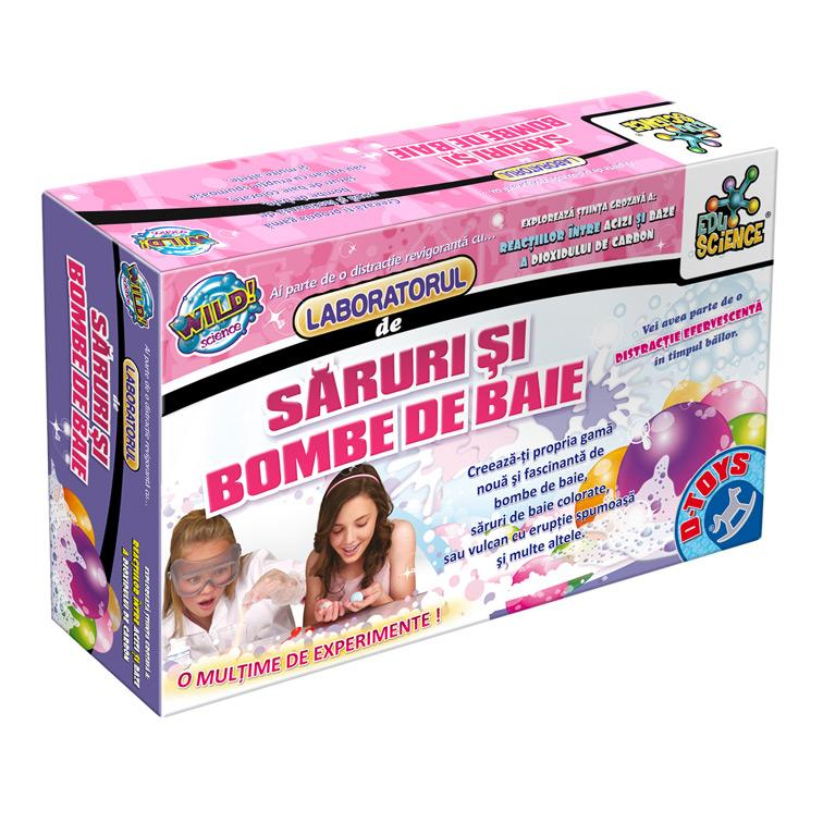 LABORATORUL DE SARURI SI BOMBE DE BAIE