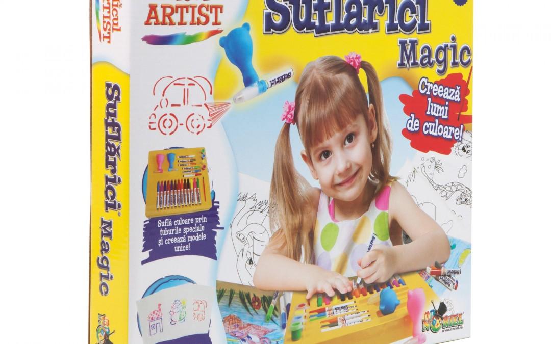 MARFA MICUL ARTIST Micul Artist – Suflarici Magic