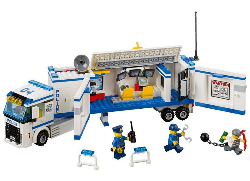 LEGO Sectie mobila de politie (60044)