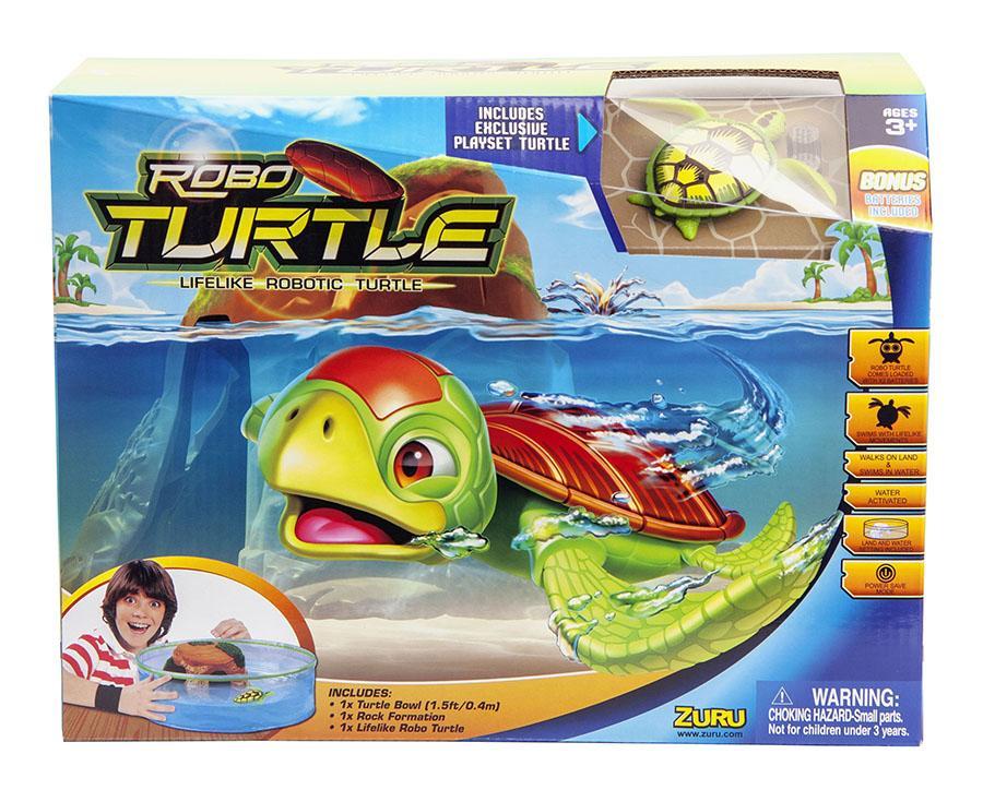 Zuru Set acvariu si Testoasa Robo Turtle verde