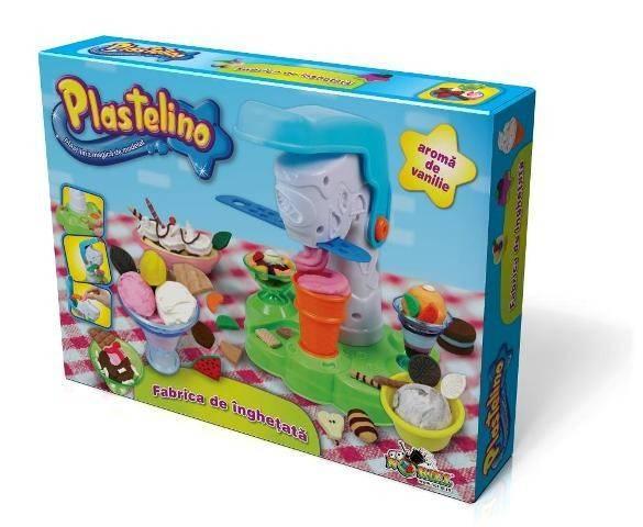PLASTELINO Plastelino Set Tematic Mega Fabrica de Inghetata