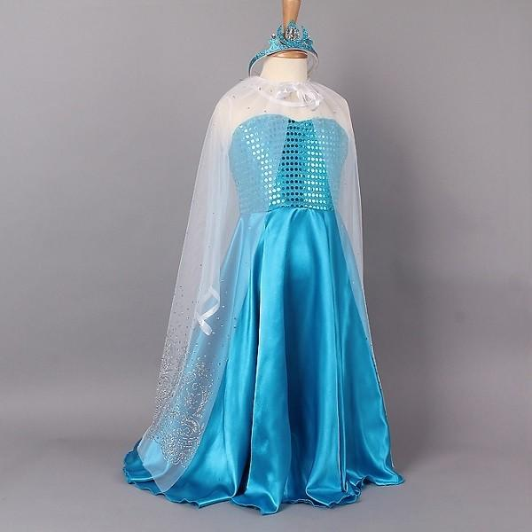 CLD87-4 Costum tematic printesa Elsa (Frozen)