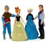 Disney Set 4 papusi Frozen Disney
