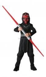 Costum carnaval copii Star Wars Darth Maul (cu licenta)