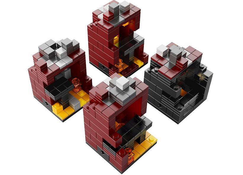 Minecraft Micro World: The Nether (21106)